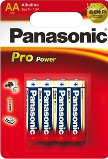 Panasonic Mignon Pro Power Alkali LR 6X/4er Blister