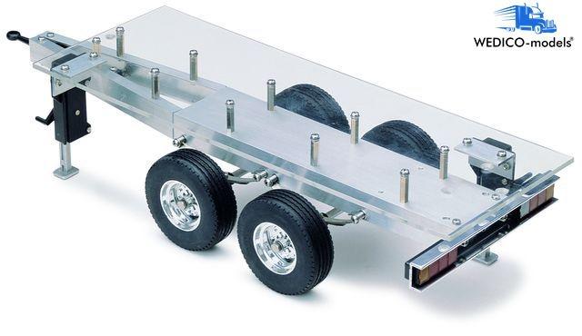 Standard-Fahrgestell 2-Achs Tandem-Anhänger WEDICO-models