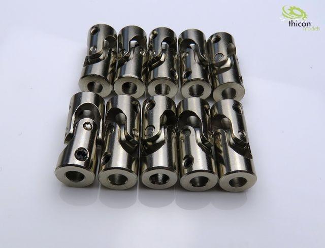 Kardangelenk Stahl 4/4mm 23mm lang 10Stück