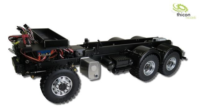 1:14 6x6 Articulated chassis for Tamiya-Arocs without bodywo