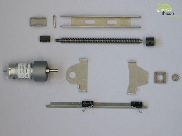 UAT2 Set aus Motorhalter und Mitnehmer KUPP6 für GM32 Servonaut