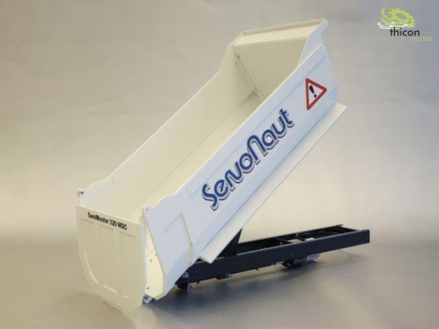 SAND320WDC Rundmulde für WEDICO 3-Achs-Zugm. SandMaster