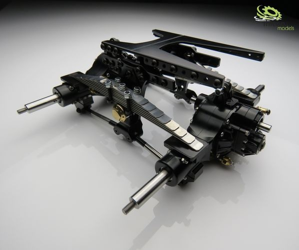 1:16 Pendulum suspension kit complete with axles and cardan