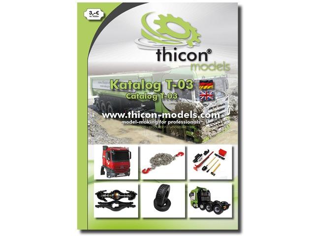 thicon-Katalog T-03 Deutsch/English inkl. 3,- EUR Gutschein