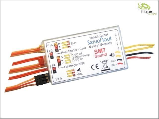 SM7 Truck-Soundmodul