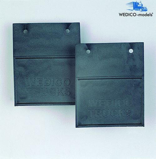 Mud flaps fitting nos. 376 to 380
