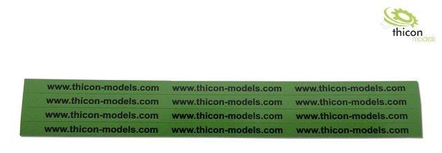 Paketband thicon Set 4-Streifen