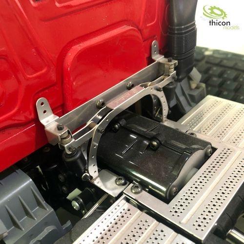 1:14 Fahrerhausverschluss V2A mit Magnet für Tamiya Scania ScaleClub