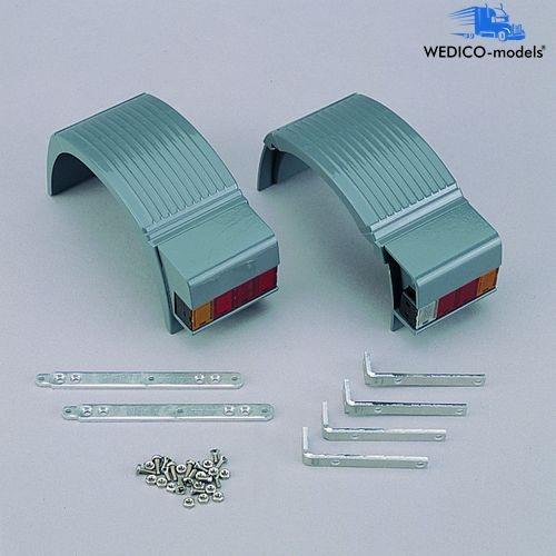 Kotflügel ACTROS, Einfach-Hinterachse