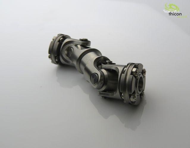 1:14 / 1:10 Scale Kardangelenk Stahl 45-50mm mit Flansch
