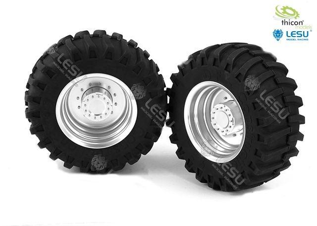 1:16 Traktor-Felgen vorne Paar