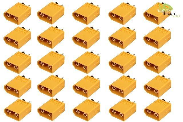 XT 60 Goldkontakt Stecker 1 Stück