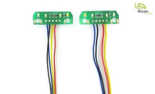 1:14 12V 7-Kammer LED-Platine