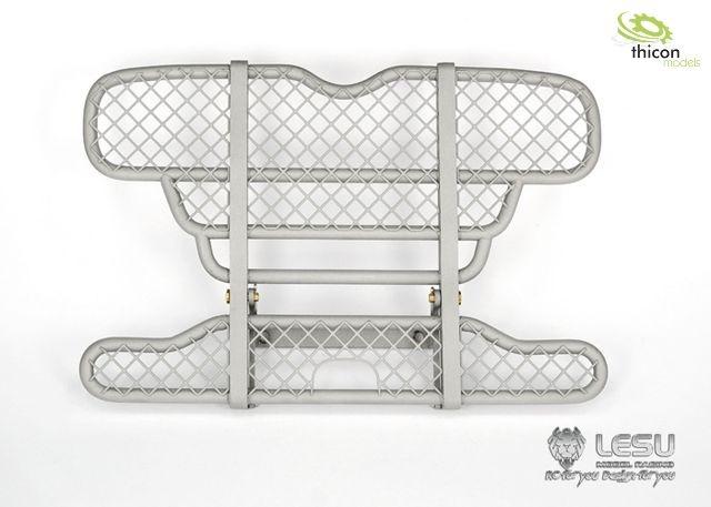 1:14 Rammschutz hoch V2A mit Gitter