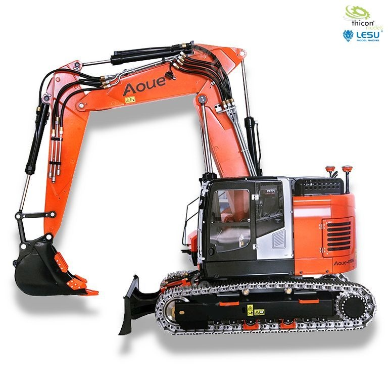 1:14 short-tail excavator ET26L with adjustable boom and doz