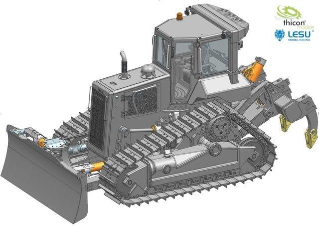 1:14 dozer DT60 kit unpainted