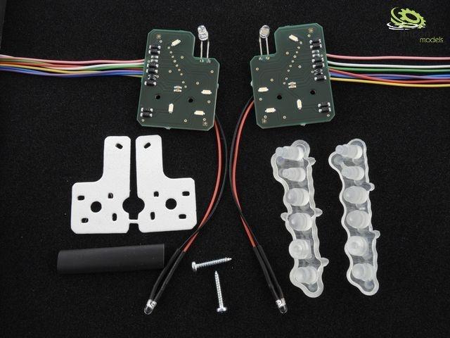 LV7TX MAN TGX Scheinwerferplatine für 7,2V bis12V