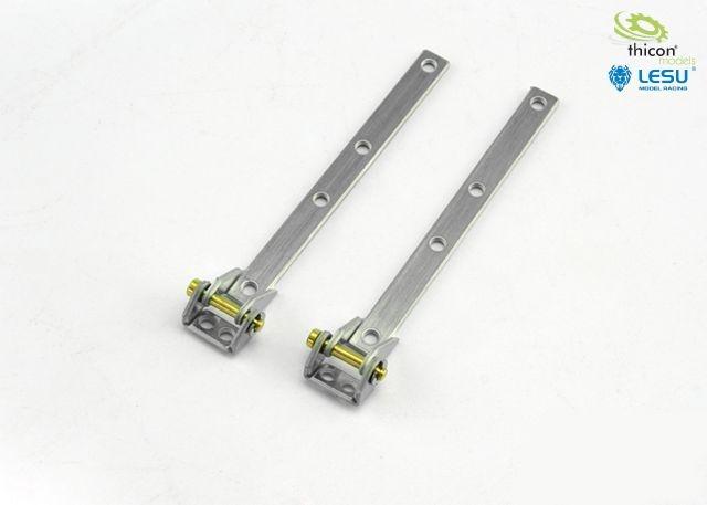 Metal hinge 2 pieces from swap body 55001