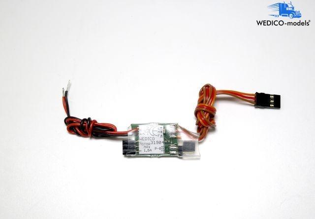 Elektronischer Stufenregler für Hydraulik 2294-W+Seilwinde