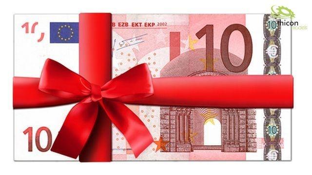 thicon Gutschein im Wert von 10,- EUR
