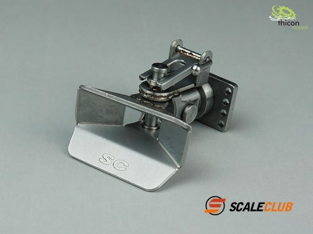 1:14 trailer hitch stainless steel
