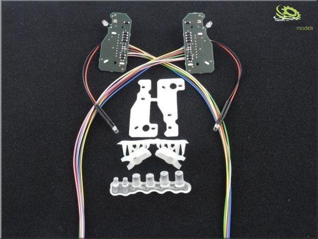 LV7MB Actros Scheinwerferplatine für 7,2V bis12V