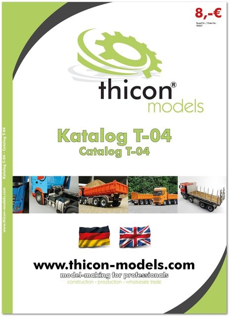 thicon catalog T-04 Deutsch / English