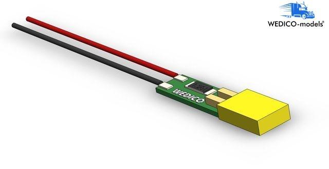 LED-Platine orange 7,2-12V für Begrenzungsleuchte