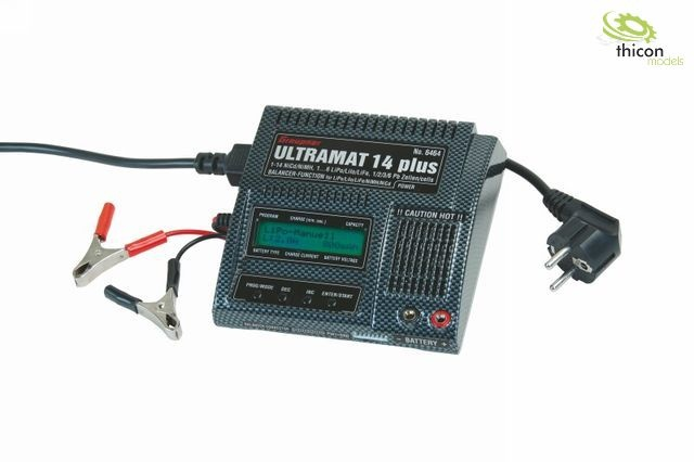 Ladegerät Ultramat 14 plus 1-6 NiCd-/NiMH-/LiPo-/LiIo-/LiFe