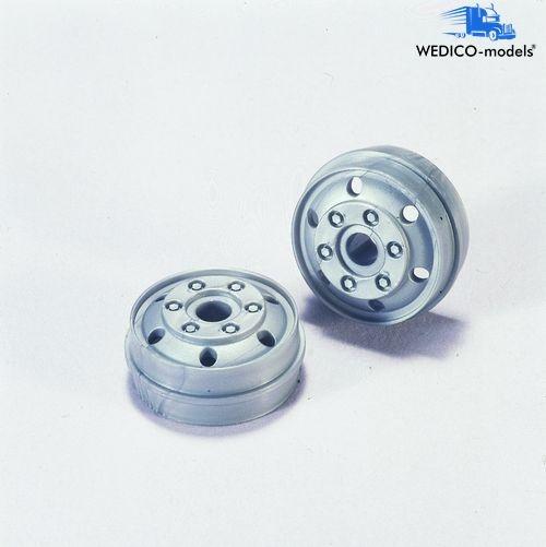 Felgen grau für  Tieflader Reifen