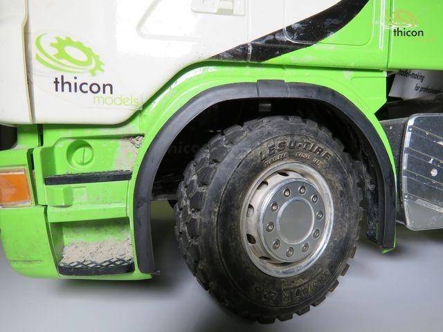 1:14 Kotflügelverbreiterungen Scania Paar