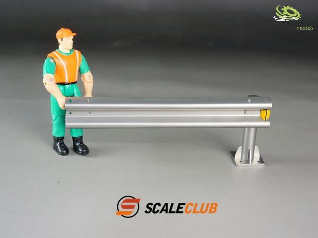 1:14 decorative guardrail made of metal, attachment for 5030
