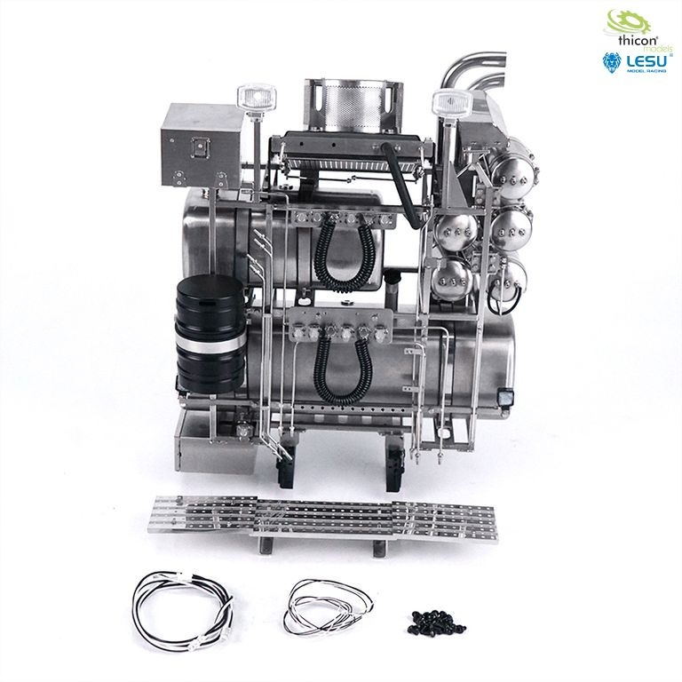 1:14 heavy duty tower V2 for MAN made of stainless steel