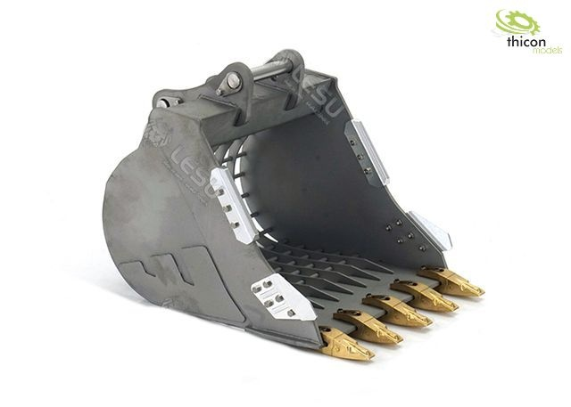 Sieve shovel for 36t excavators
