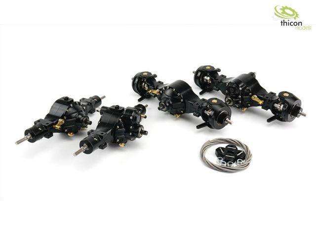 1:14 8x8 Differenzial-Set V2 sperrbar Metall