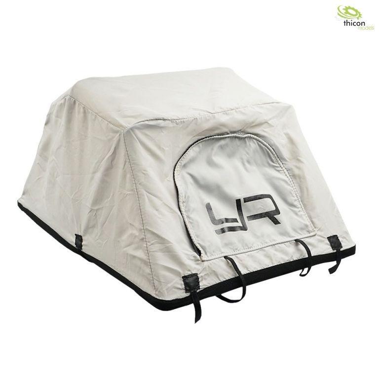 1:10 Dach-Zelt mit Dachgepäckträger und Leiter
