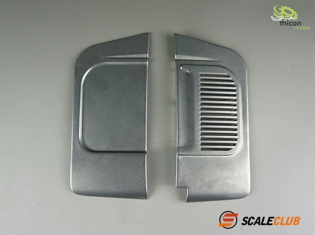 1:14 stainless steel side panel for Actros SLT
