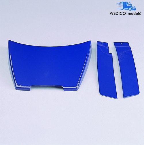 Dachspoiler+Windleitblech blau ACTROS