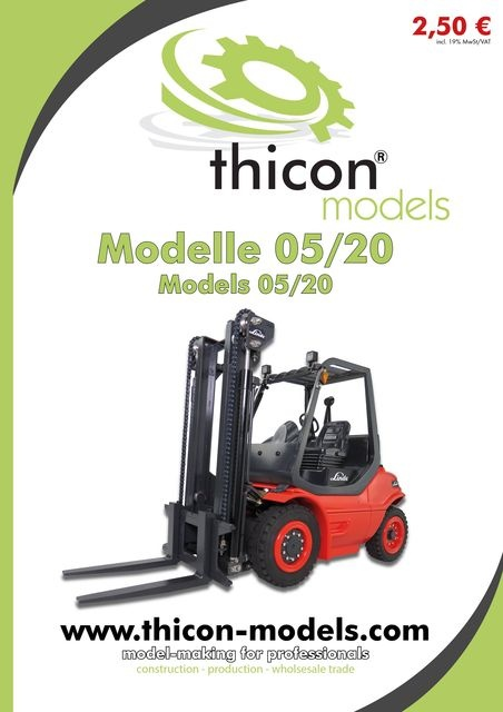 Catalog thicon-Models 05/2020 German / English