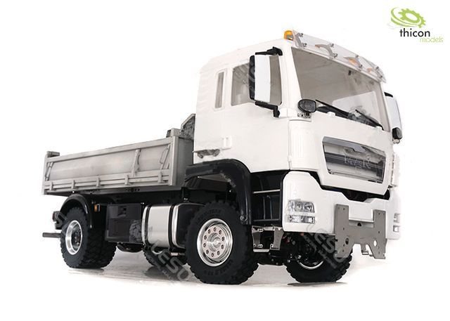 1:14 4x4 rear tipper MAN TGS with hydraulics