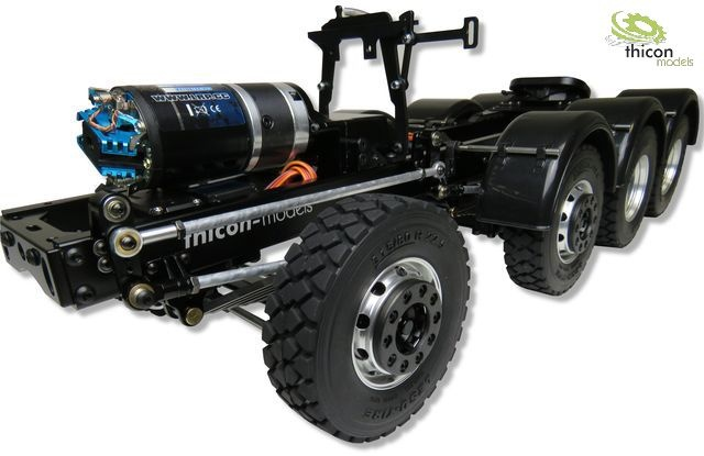 1:14 thicon 8x4 heavy duty chassis LIGHT-1 kit