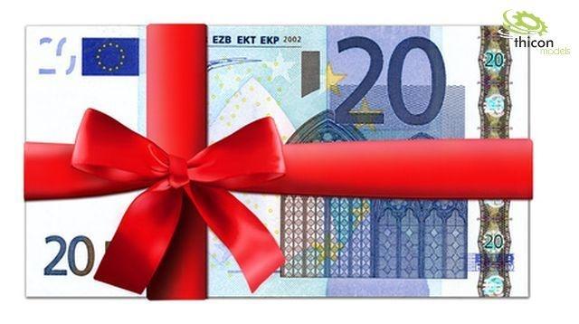 thicon Gutschein im Wert von 20,- EUR