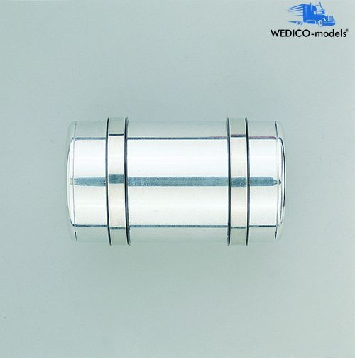 Tank rund, poliert, 83 mm lang
