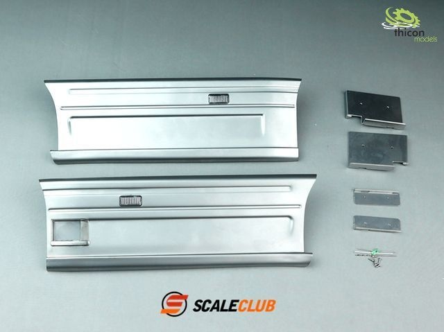 1:14 Side panel for Scania 2-axle aluminum removable