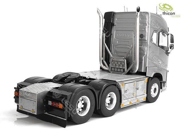 1:14 6x6-Fahrgestell für VOLVO mit Auspuffanlage