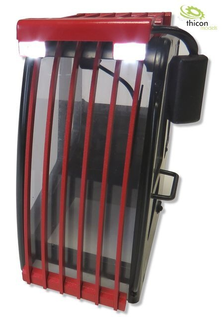 Steinschlagschutz mit LED Bausatz für TTM- und RC4WD Bagger