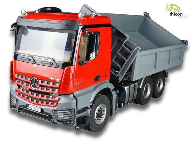 1:14 3-way tipper 6x6 fully assembled for AROCS