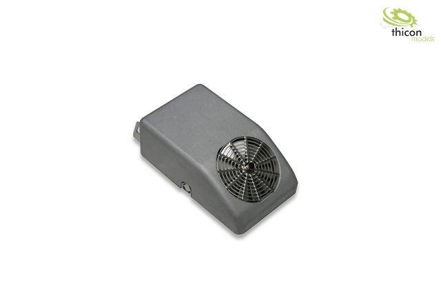 1:14 / 1:16 Klimaanlage für Rückwand aus Metall