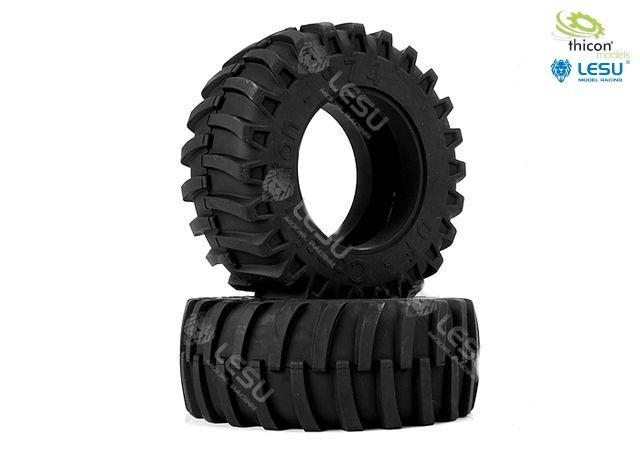 1:16 Traktor-Reifen hinten Paar