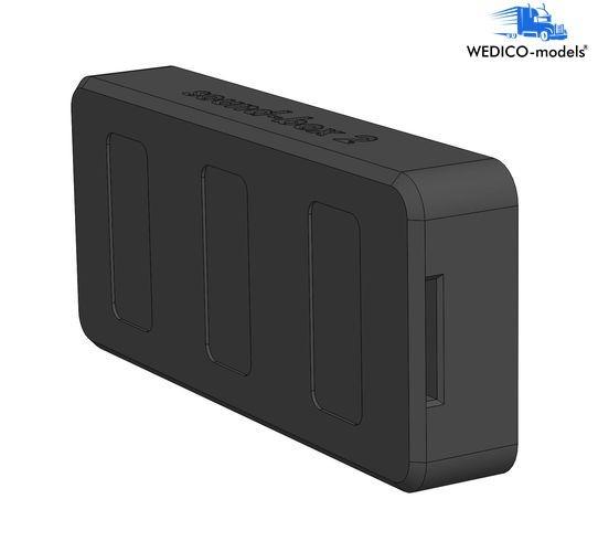 Soundbox 1 ABS schwarz Ersatzteil